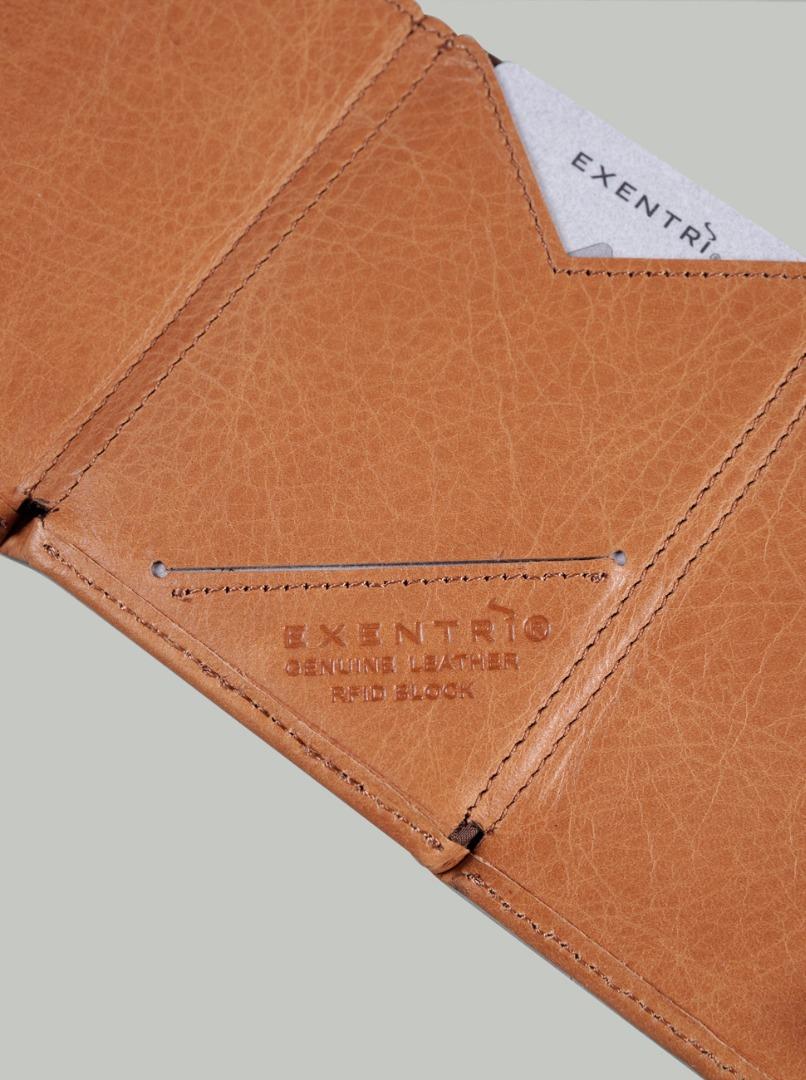 Exentri Wallet SAND mit RFID-Schutz 2