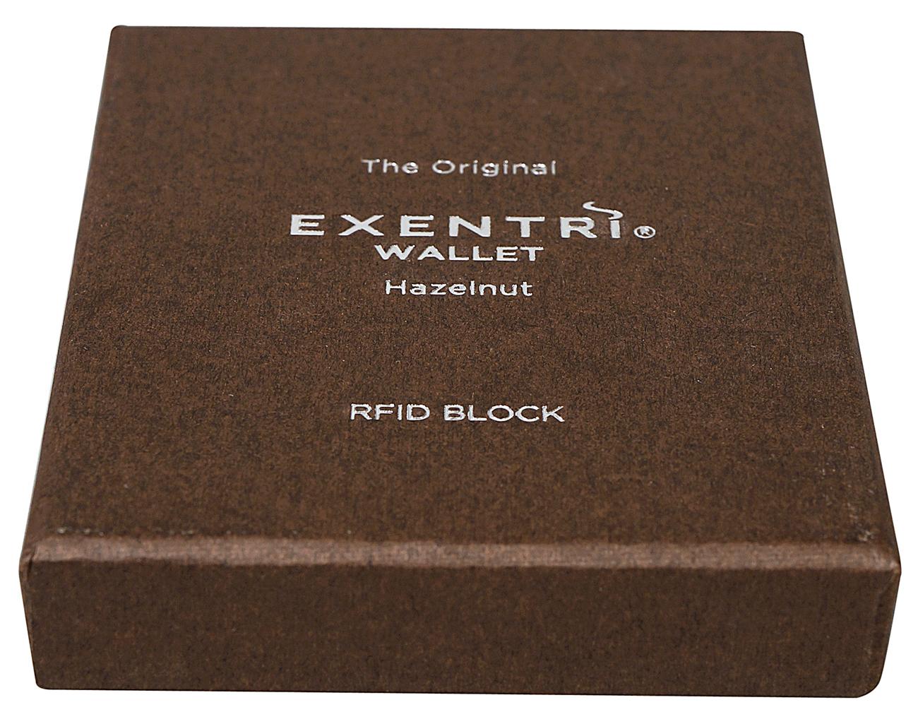 Exentri Wallet HAZELNUT mit RFID-Schutz