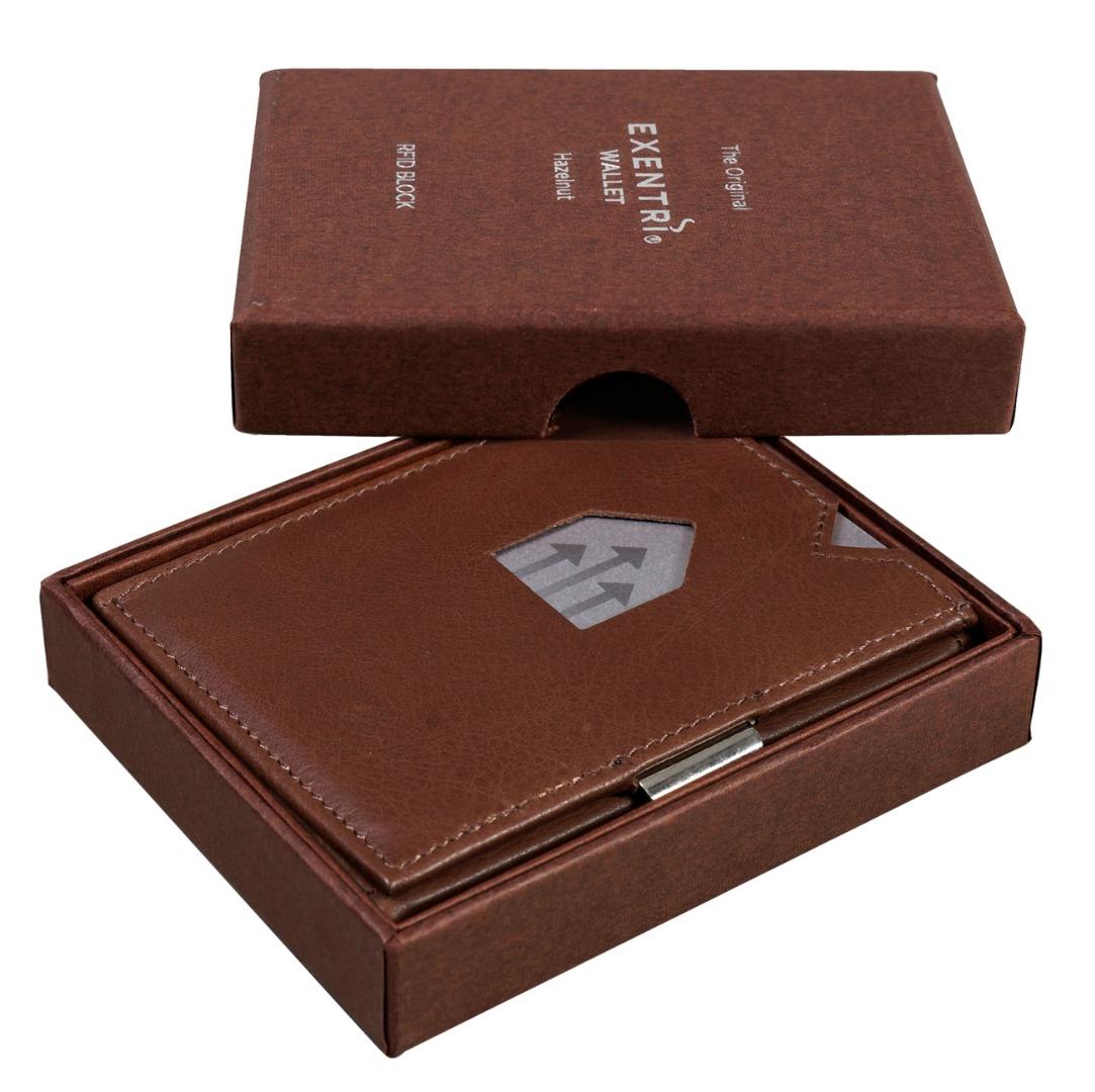 Exentri Wallet HAZELNUT mit RFID-Schutz 3
