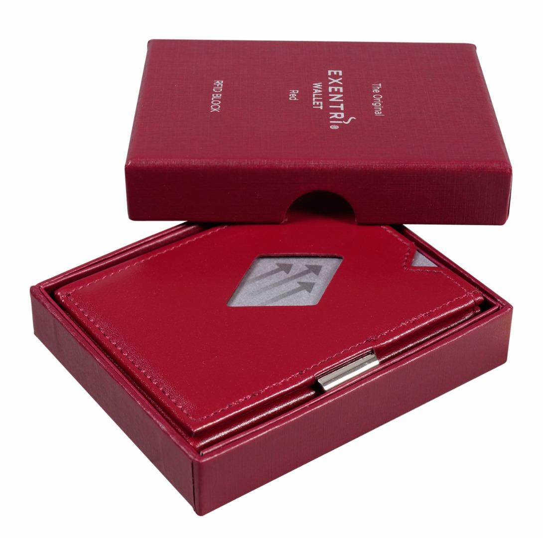 Exentri Wallet RED mit RFID-Schutz 3