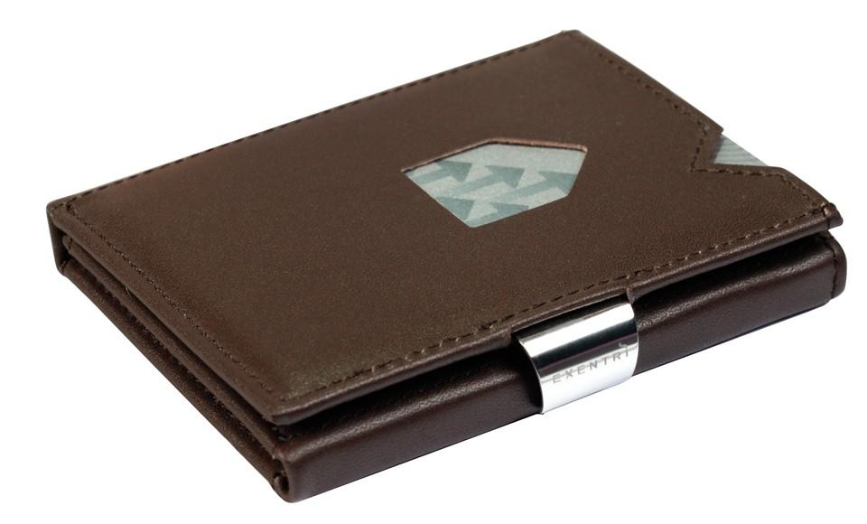Exentri Wallet - Brown - Ohne RFID Schutz