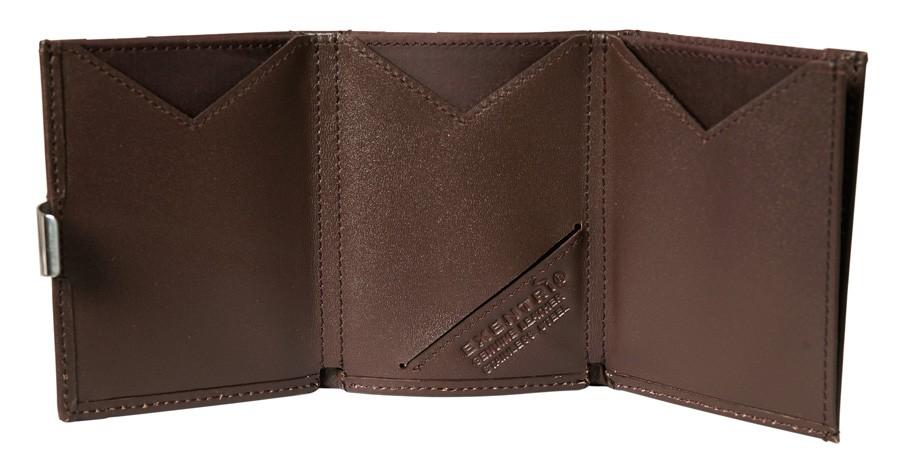 Exentri Wallet BROWN mit RFID-Schutz 3