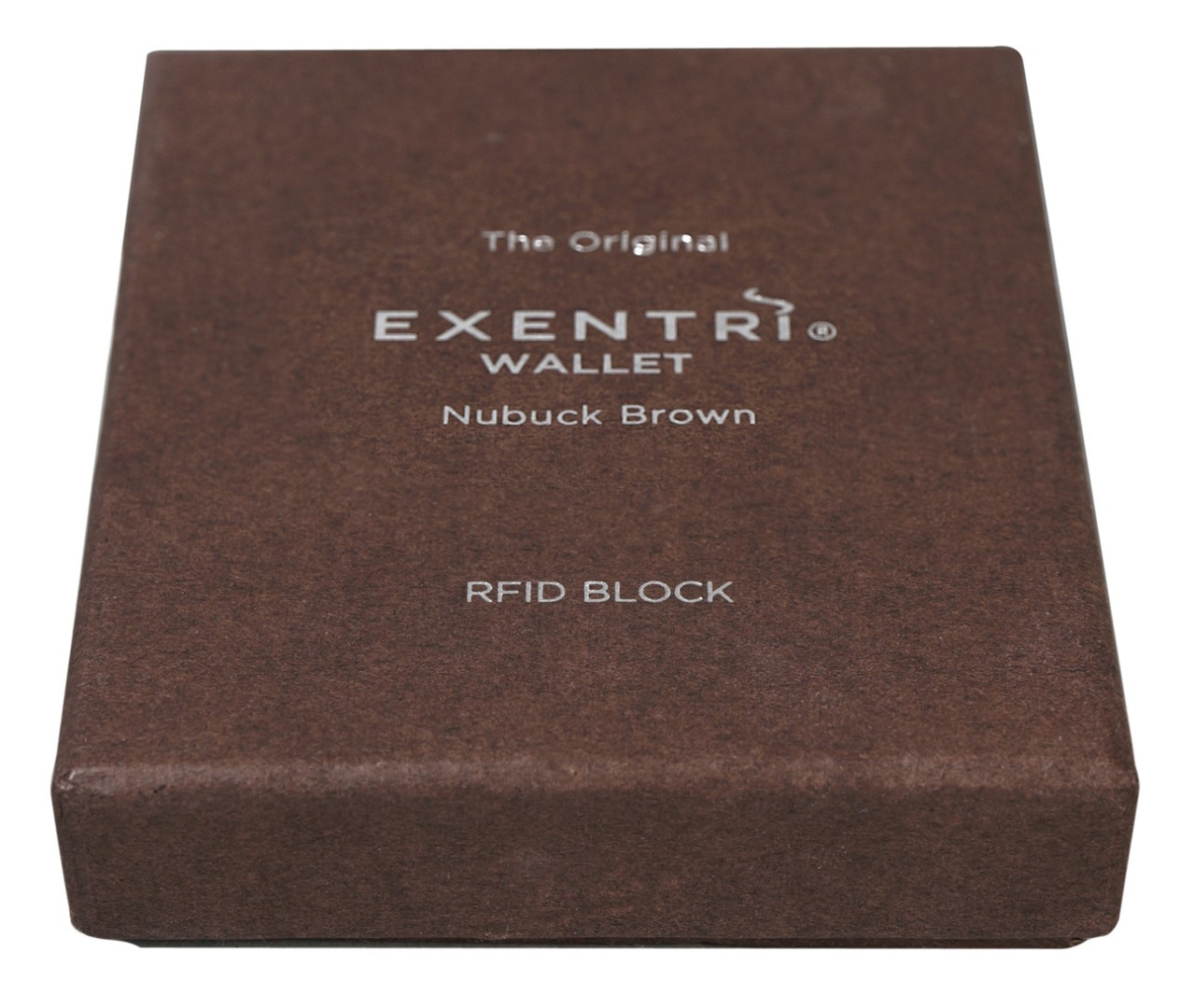Exentri Wallet NUBUCK BROWN mit RFID-Schutz - 4