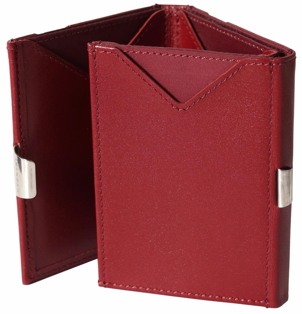 Exentri Wallet - Red - Ohne RFID Schutz