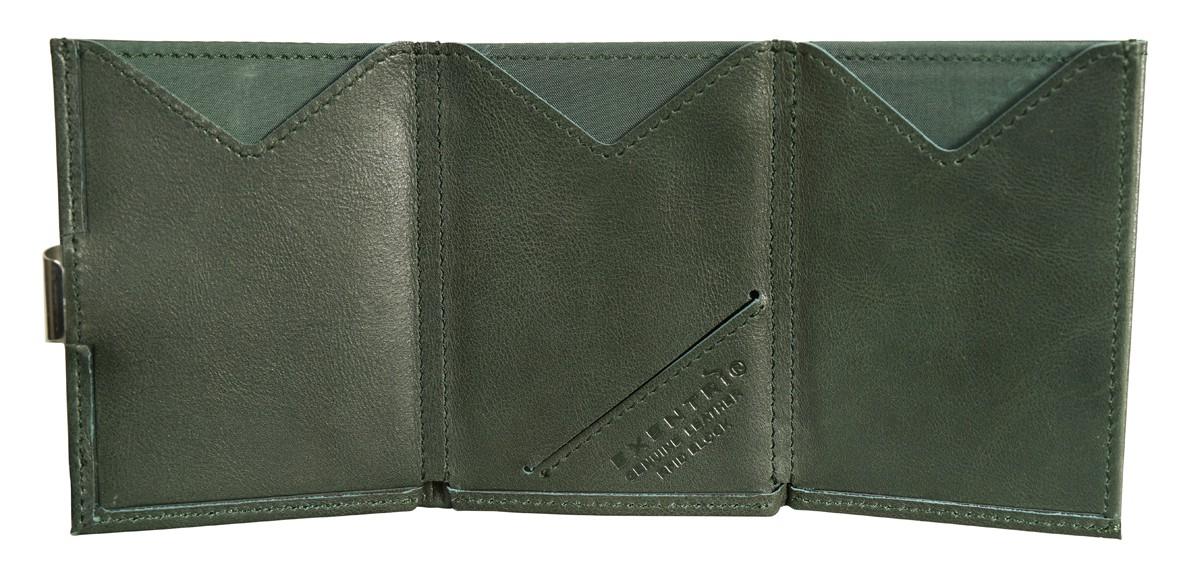 Exentri Wallet - Emerald Green - Mit RFID Schutz - 2