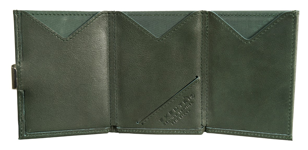 Exentri Wallet Emerald Green Mit RFID - 2