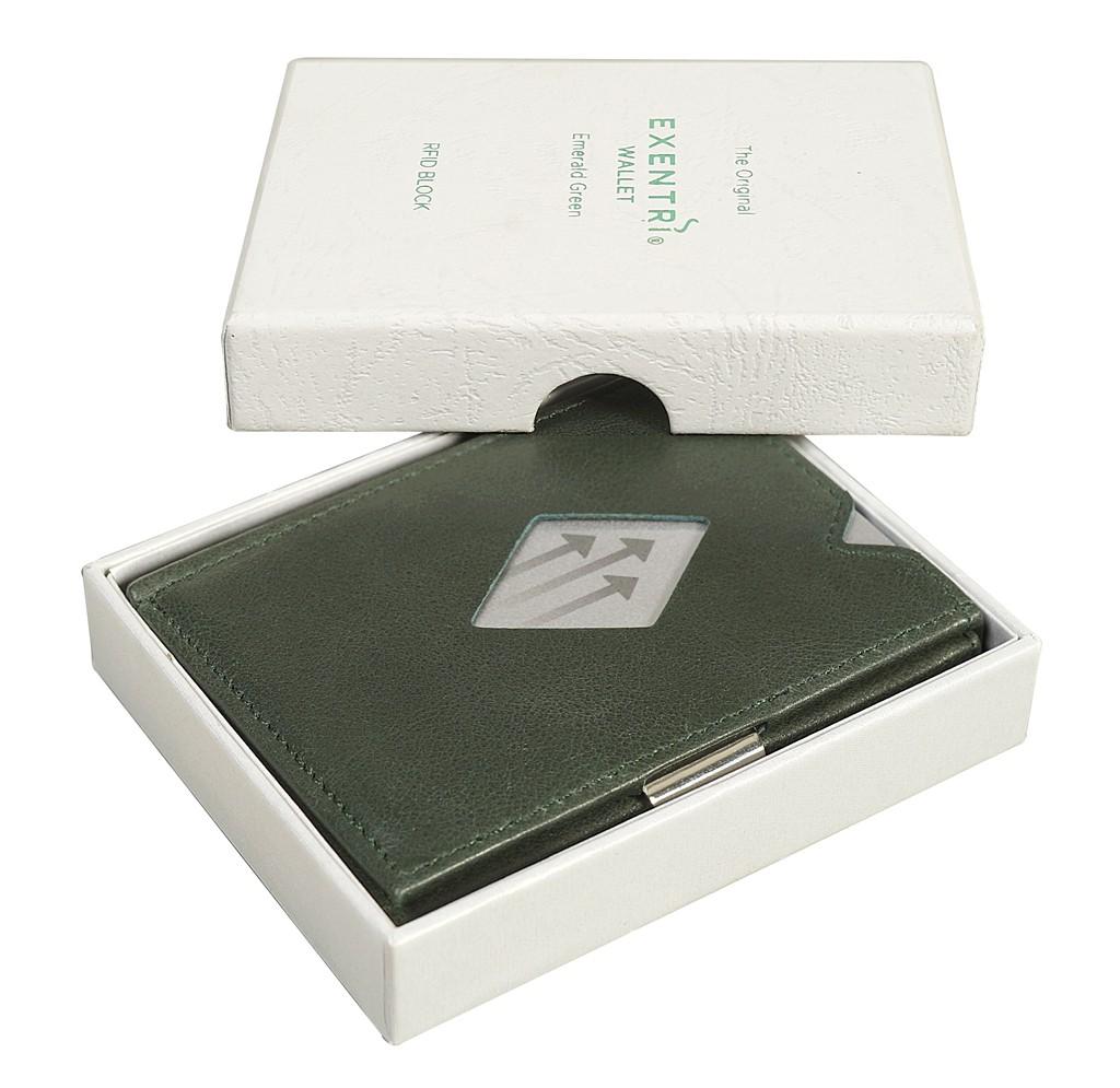 Exentri Wallet - Emerald Green - Mit RFID Schutz - 1