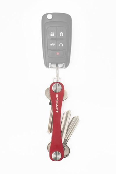 KeySmart Rot 2.0 inkl. Anhaengeroese