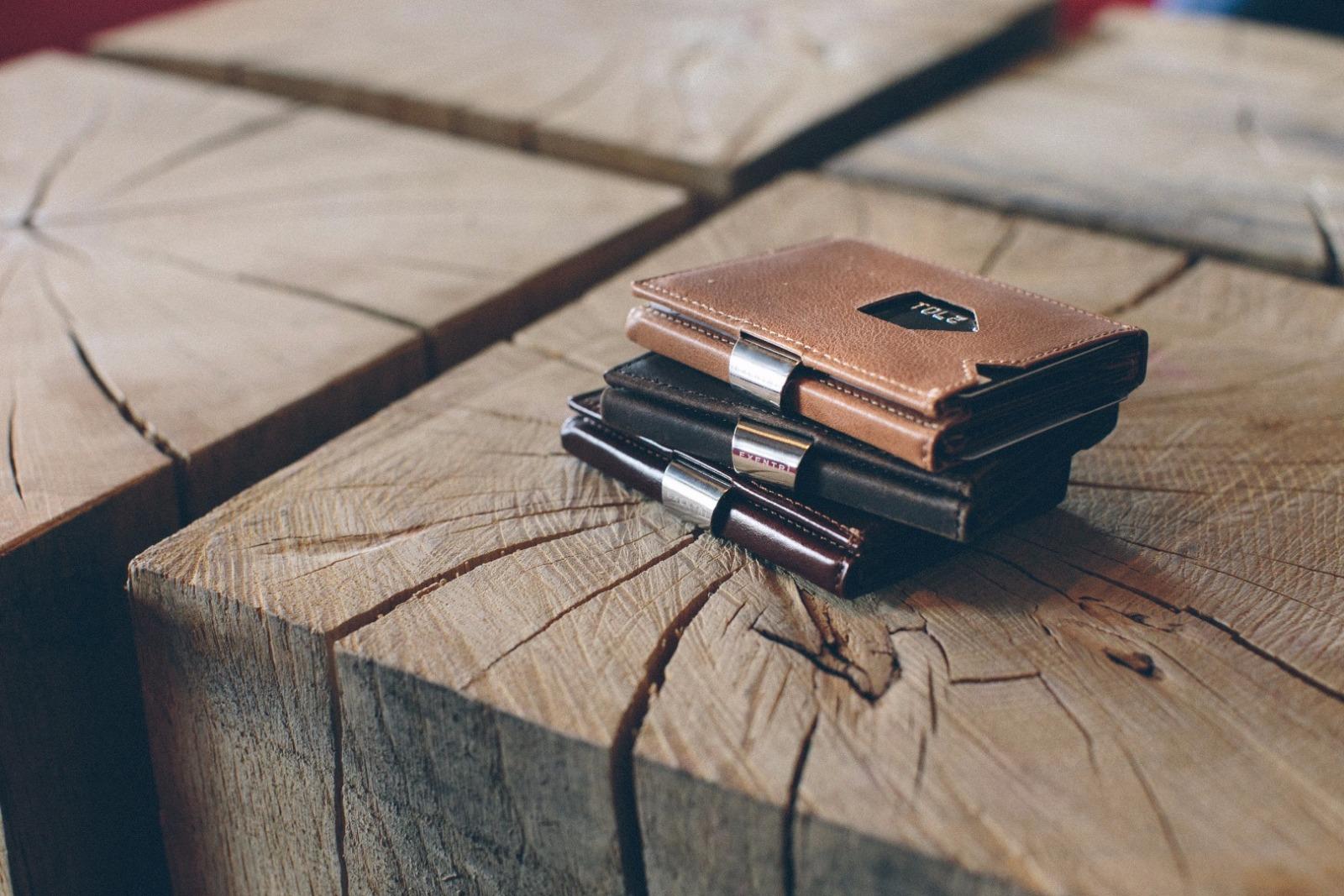 Exentri Wallet NUBUCK BLACK mit RFID-Schutz - 8