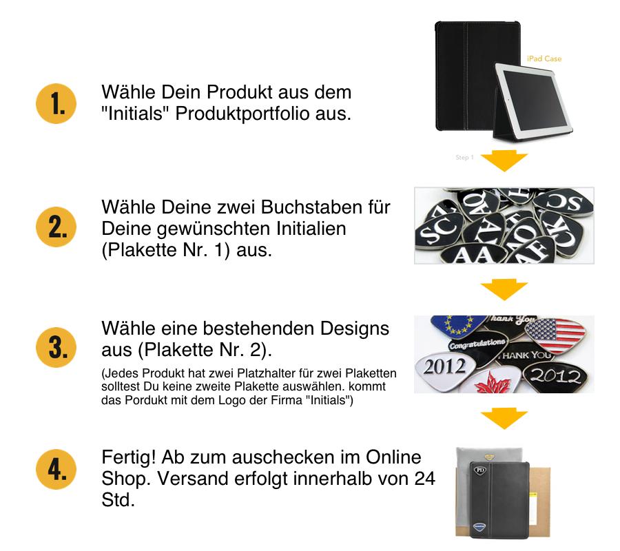 Personalisierbarer Schlüsselanhänger Lucky Initialien AA bis ZZ - 7