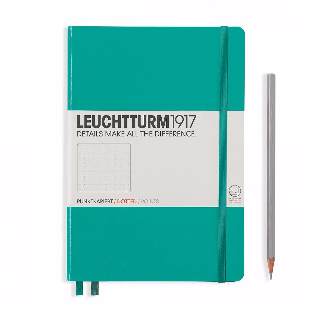 LEUCHTTURM1917-Notizbuch Farbe: Smaragd