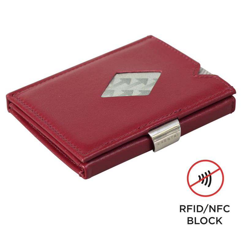 Exentri Wallet RED mit RFID-Schutz