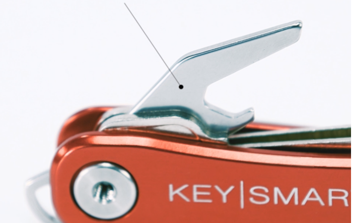 KeySmart Flaschenoeffner fuer KeySmart Rugged