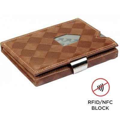 Exentri Wallet SAND CHESS mit RFID-Schutz - 1