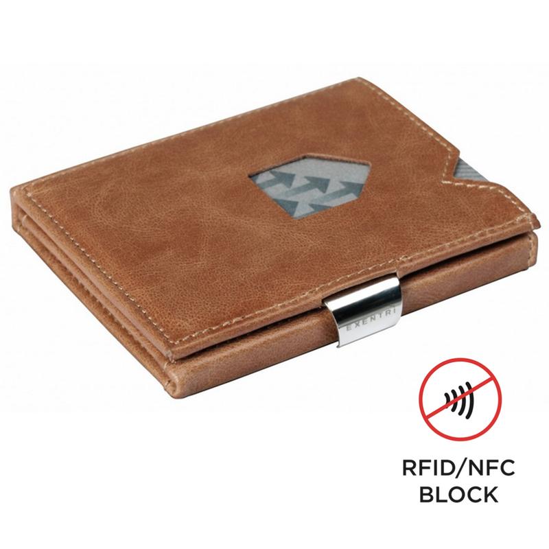 Exentri Wallet SAND mit RFID-Schutz