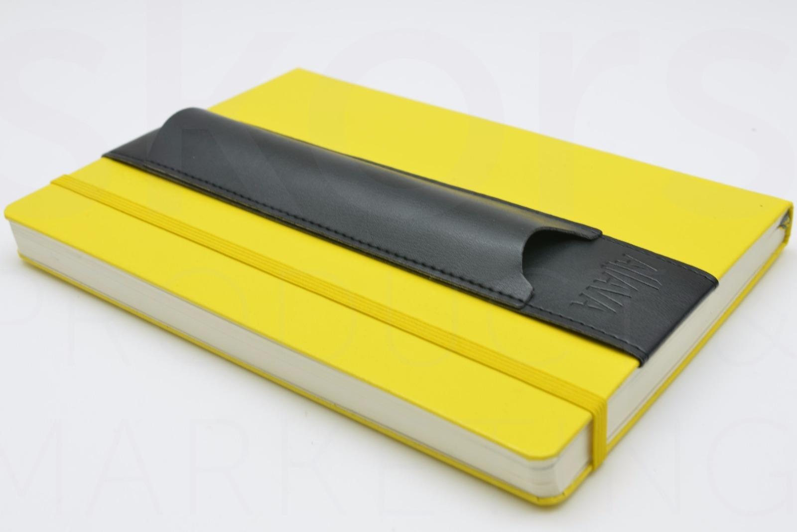 KeySmart Aljava A5-Stiftehalter in Kunstleder Farbe Schwarz mit schwarzer Naht