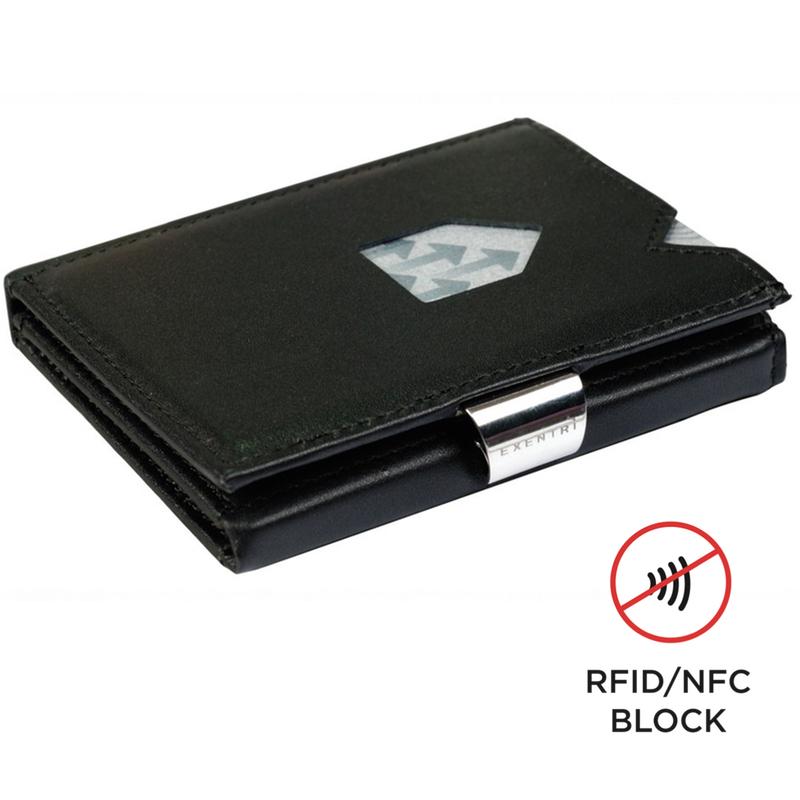 Exentri Wallet BLACK mit RFID-Schutz