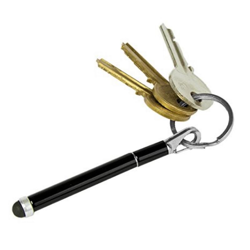 Touch Pen Teleskopkuli Stylus Pen - Schwarz