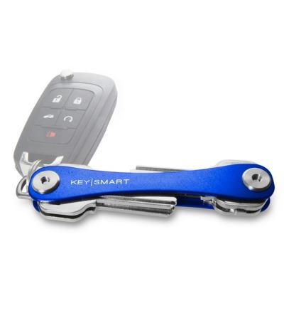 KeySmart Blau 2.1 inkl. Anhängeröse - KeySmart 2.1 in Blau mit der längeren Schraube für mehr Schlüssel. Das Original aus Chicago USA.