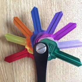 Air-Ersatzschlüssel für den Keysmart - Amerikanische Füllschlüssel für Ihren KeySmart - setzen Sie ein farbliches Highlight