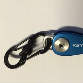 Quick Connect Lock Schwarz - Ein toller Karabiner für den KeySmart als Zubehör