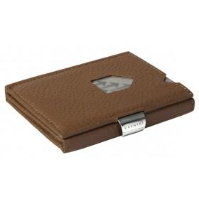 Exentri Wallet - Brown Structure - Ohne RFID Schutz - Das Micro-Wallet/Geldbeutel von Exentri ist das Original unter den Minigeldbeutel.