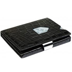 Exentri Wallet - Caiman Black - Ohne RFID Schutz