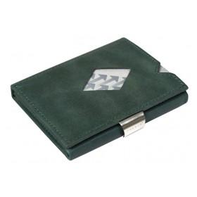 Exentri Wallet - Emerald Green - Ohne RFID Schutz - Das Micro-Wallet/Geldbeutel von Exentri ist das Original unter den Minigeldbeutel. Seit 1994 design aus Norwegen.