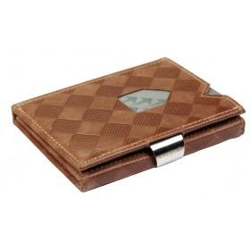 Exentri Wallet - Sand Chess - Ohne RFID Schutz - Der smarte Micro-Geldbeutel kommt in einem sehr klassischen Schachmuster. Ein tolles Wallet aus Norwegen. Das Original.