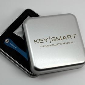 KeySmart-Geschenkdose - Die Geschenkdose für den KeySmart inkl. Inlay. Pass genau für einen KeySmart mit einer Aussparung für KeySmart Zubehör