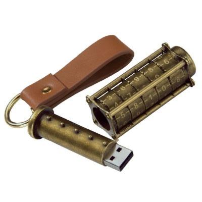 Cryptex USB Stick 16GB Da Vinci - Das Hochsicherheitsschloss fuer deine Daten
