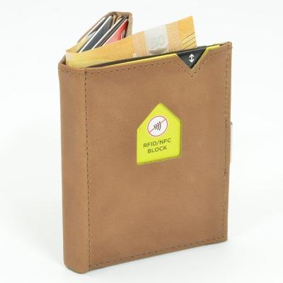 Exentri Wallet SAND mit RFID-Schutz - Mit dem smarten Exentri Wallet Geldscheine und Karten einfach verwalten.