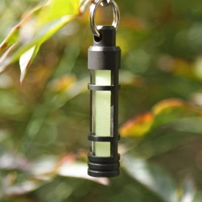 Anhänger Laterne - Aluminium - Fluoreszierende Leuchte für den Schlüsselbund