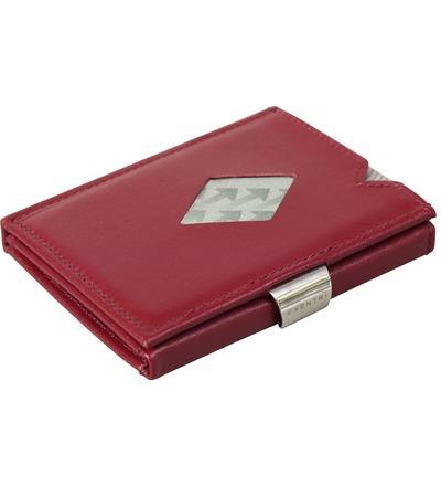 Exentri Wallet - Red - Ohne RFID Schutz - Das Exentri Wallet als Mikrogeldbeutel in einer ganz besonderen Farbe. Das rote Wallet besticht mit Eleganz und Farbe. Das Original Exentri Wallet seit 1994