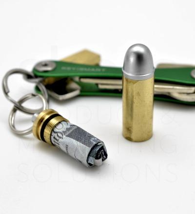 KeySmart-Bundel Bullet - Der KeySmart 2.1 in schwarz mit dem erfolgreichen Bullet Stash fuer Geldscheine