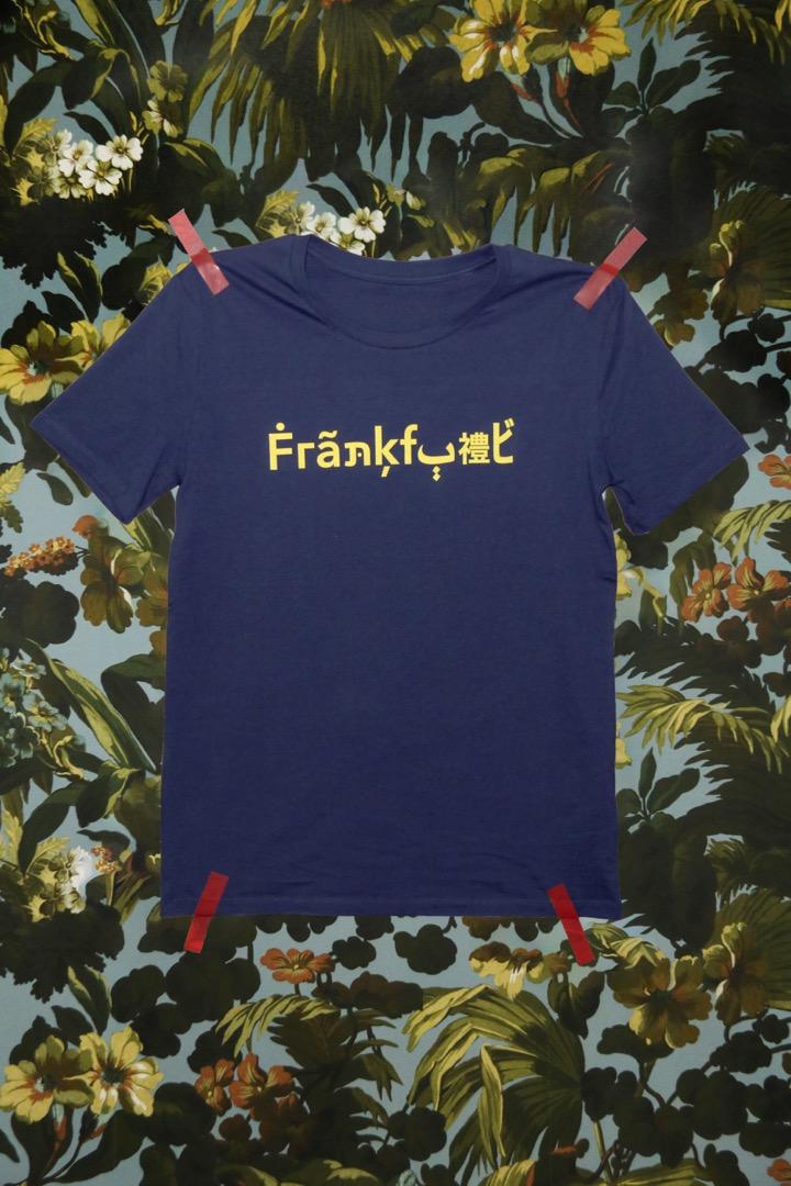The Original Frankfurt Shirt blau gelb
