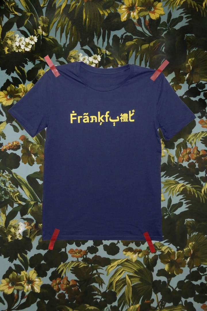 The Original Frankfurt Shirt / blau - gelb