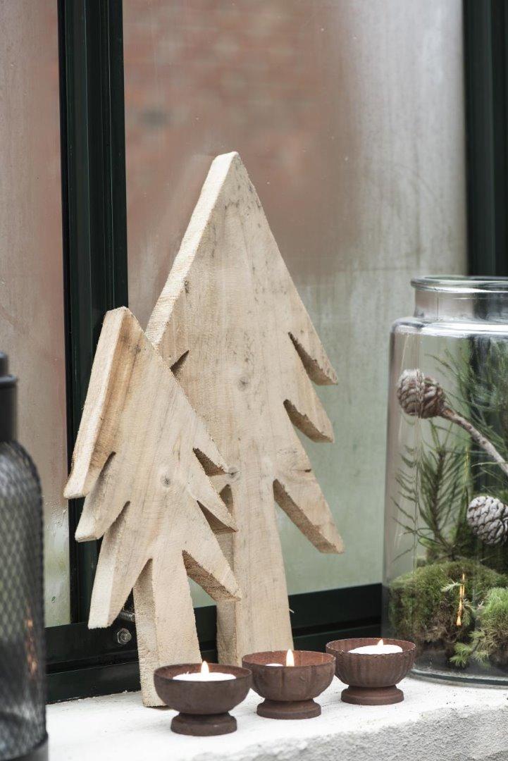 Tannenbaum aus Holz 35cm 3