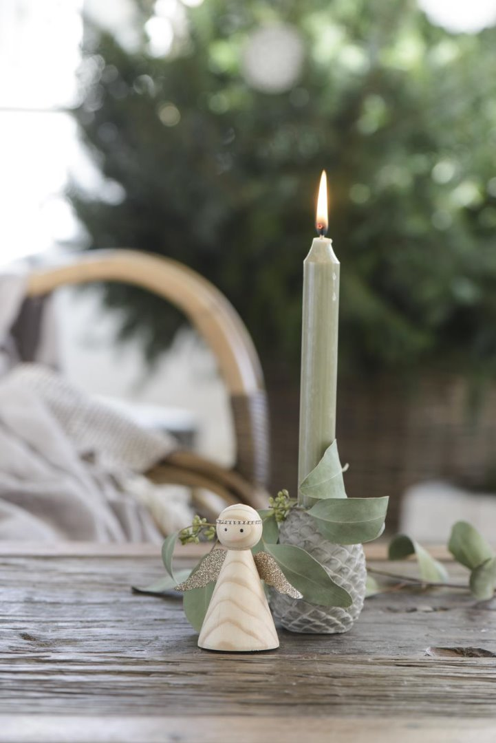 Kerzenhalter Zapfen aus Beton 7
