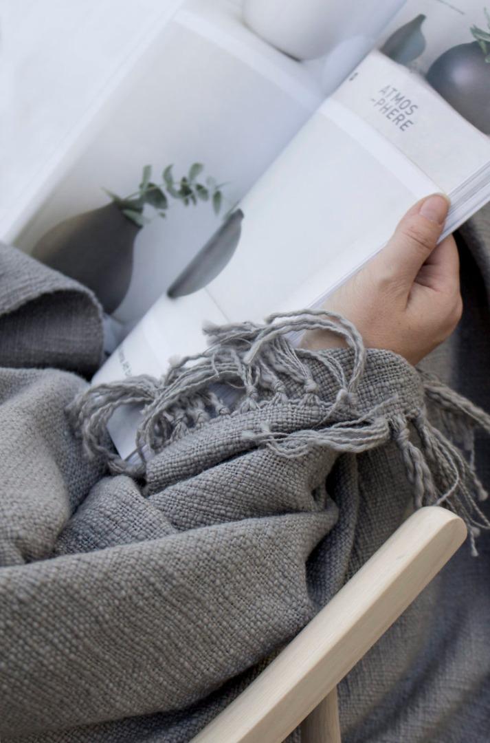 Decke MYSINGE aus Baumwolle