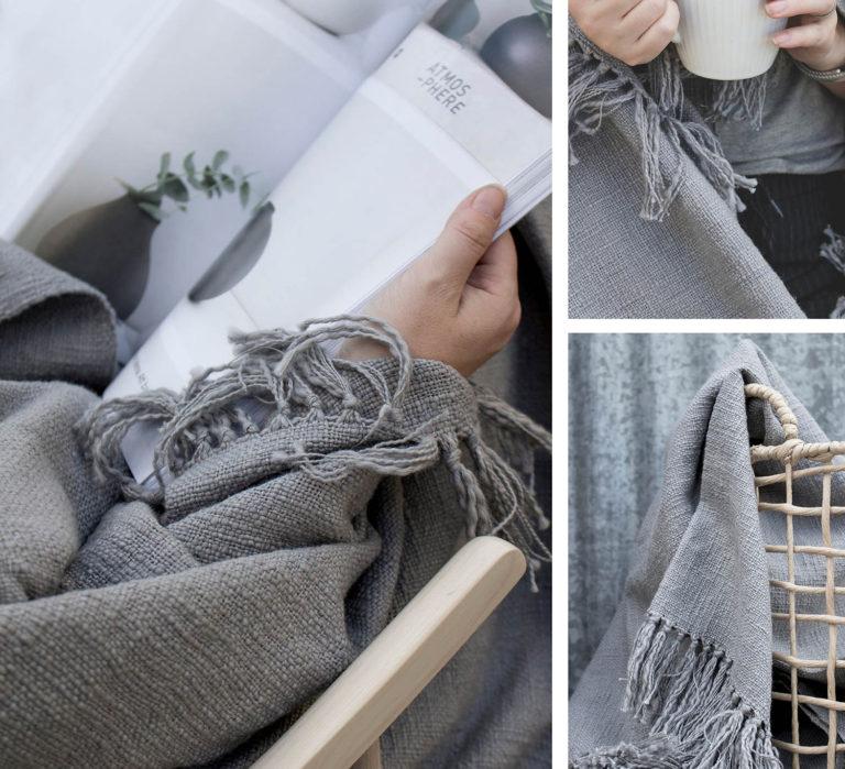 Decke MYSINGE aus Baumwolle 3