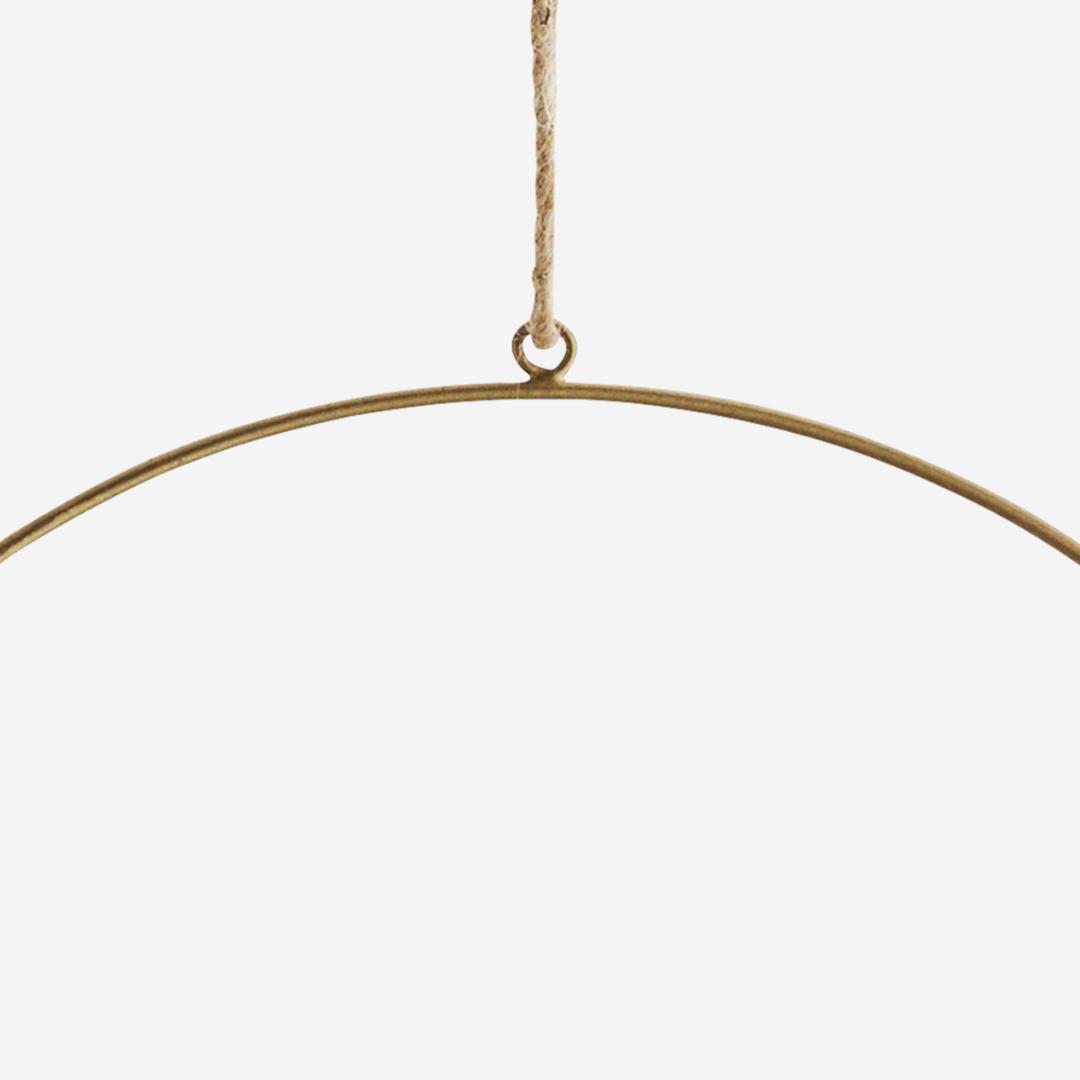 Ring aus Eisen / antik-brass /
