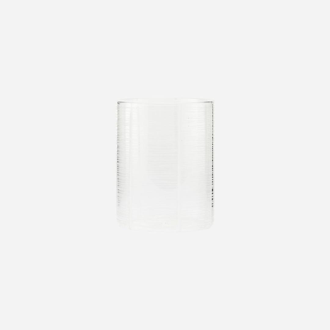 Teelicht NORTH klar / klein