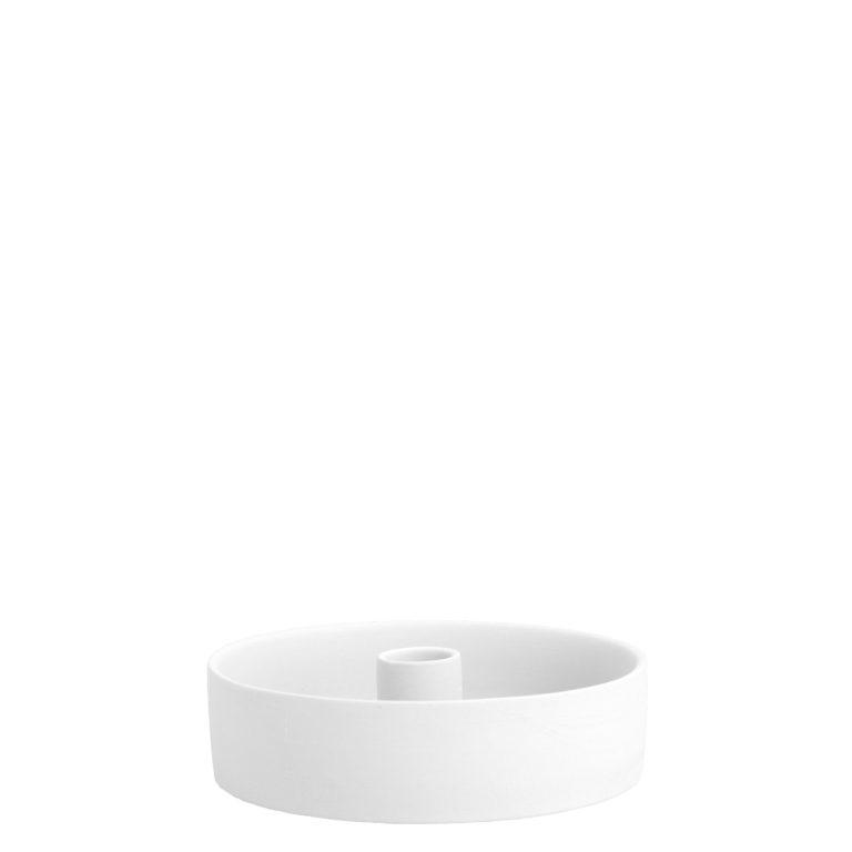 weiße Stabkerzenplatte