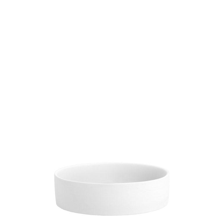 weiße Kerzenplatte