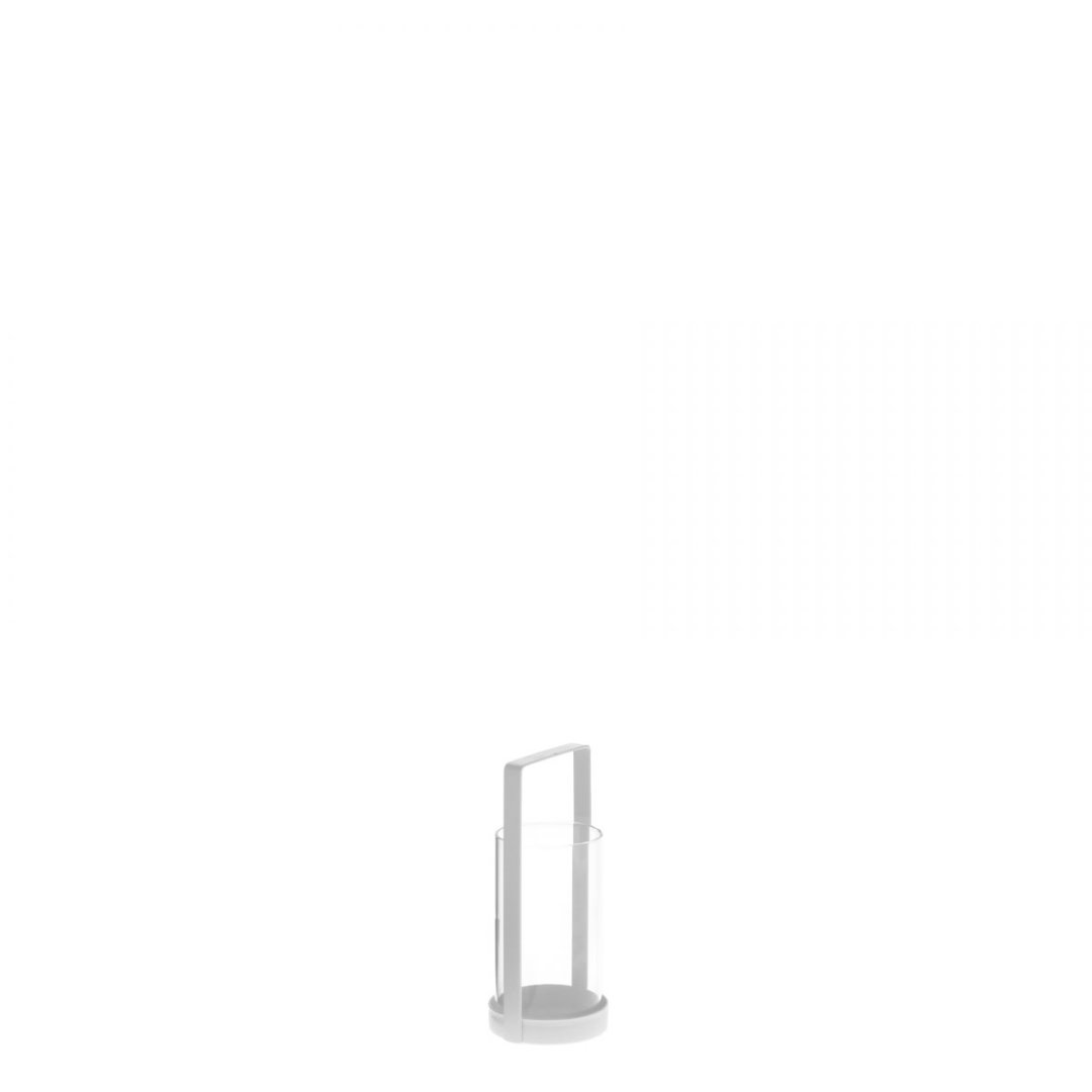 Laterne mini weiß 2