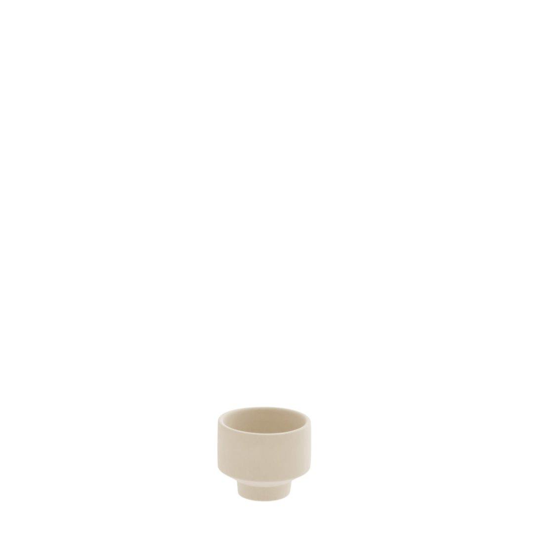 Teelichthalter beige 2