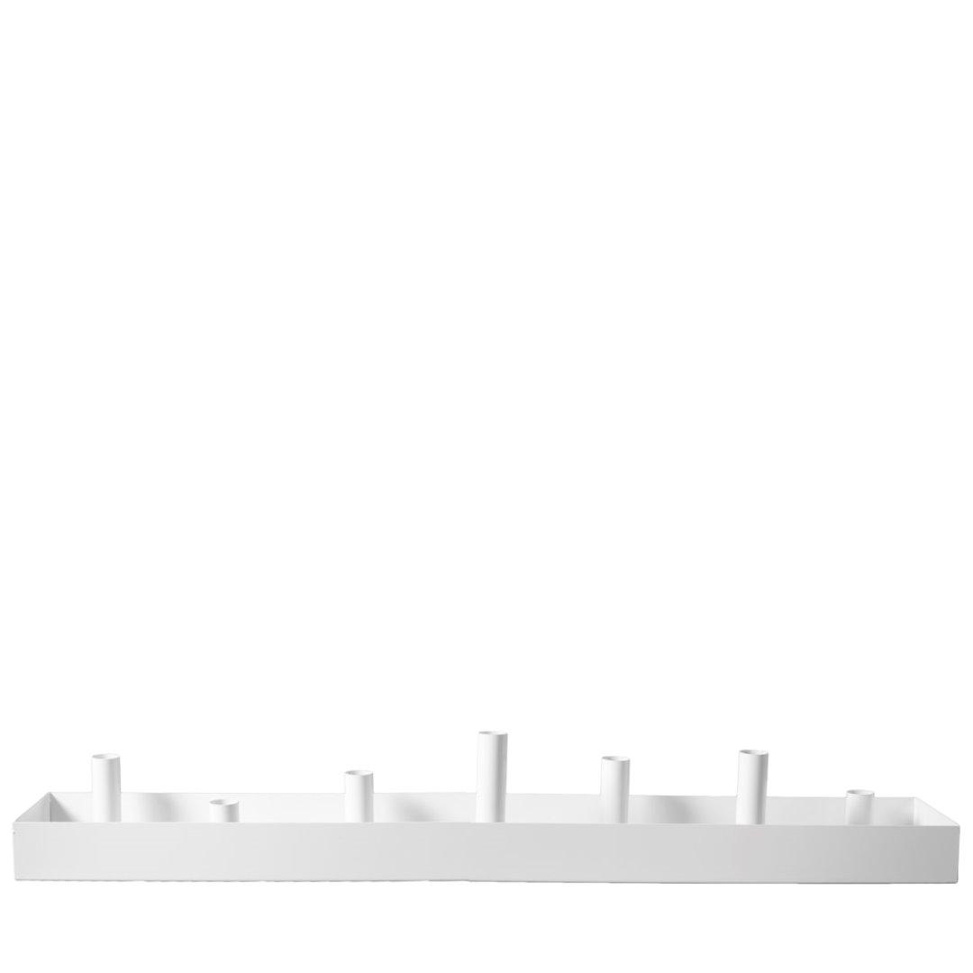 Kerzenhalter SUND weiß 80cm 3