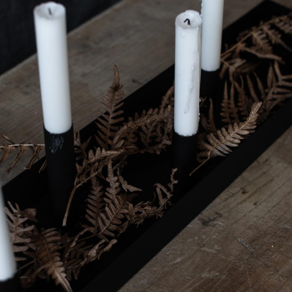 Kerzenhalter SUND schwarz 80cm 2