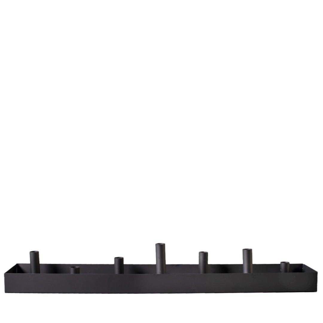 Kerzenhalter SUND schwarz 80cm 3